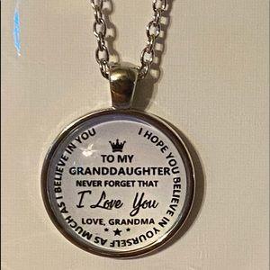 Grandson / granddaughter. Love neckless